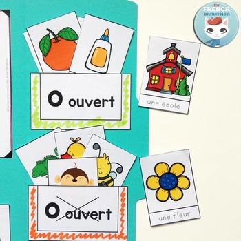Le son O ouvert - French Phonics Lapbook