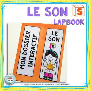 Le son S | La lettre S | French Phonics Lapbook