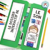 Le son UI   French Phonics Lapbook   La conscience phonologique
