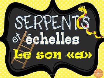 """Le son """"a"""" - serpents et échelles"""