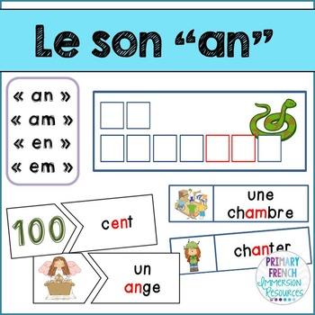 """Le son """"an"""""""