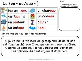 """Le son """"au/eau"""""""