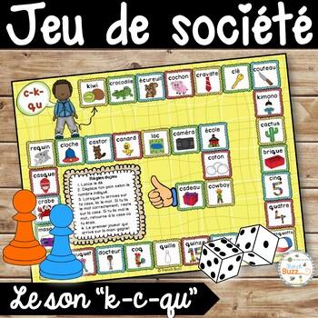 """Le son """"c-k-qu"""" - jeu de société"""