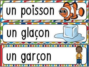 """Le son """"ç"""", """"ss"""", """"c"""", """"s"""", """"t"""", """"x"""" - mur de mots et lexique"""