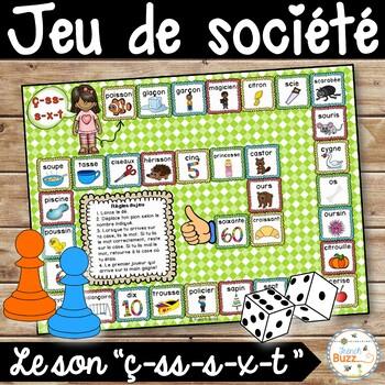 """Le son """"ç-ss-c-s-x-t"""" - jeu de société"""