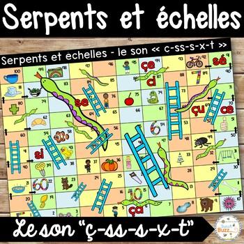 """Le son """"ç-ss-s-x-t"""" - Serpents et échelles"""