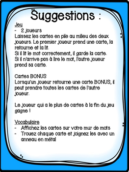 "Le son ""ch"" - 36 cartes de vocabulaire - French Sounds"