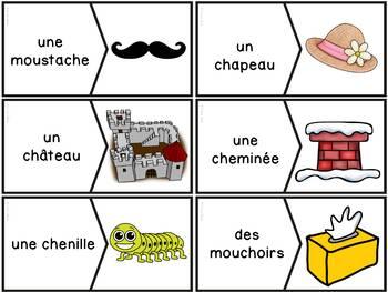 """Le son """"ch"""" - 36 puzzles"""