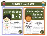 Le son du jour - BUNDLE (French phonics and sounds bundle)