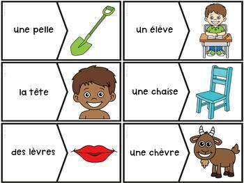 """Le son """"è-ê-ai-ei-e"""" - 40  puzzles"""