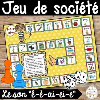 """Le son """"ê-è-ai-ei-e"""" - jeu de société"""