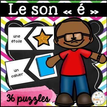 """Le son """"é-er-ed-et-ez"""" - 36 puzzles"""