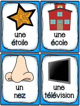 """Le son """"é-er-et-ed-ez"""" - 36 cartes de vocabulaire - French Sounds"""