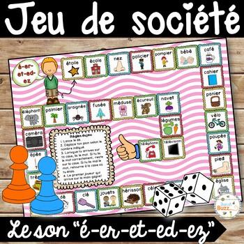 """Le son """"é-er-et-ez-ed"""" - jeu de société"""