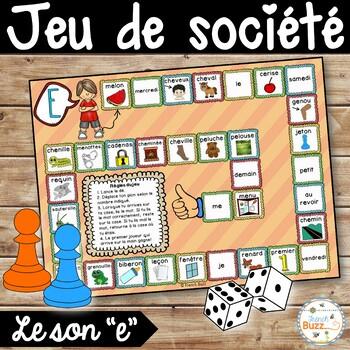 """Le son """"e"""" - jeu de société"""