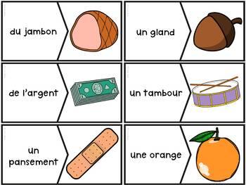 """Le son """"en"""", """"em"""", """"an"""", """"am"""" - 54 puzzles"""