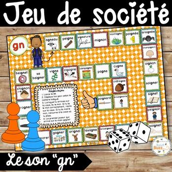 """Le son """"gn"""" - jeu de société"""