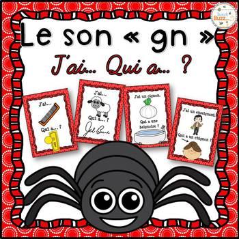 """Le son """"gn"""" - jeu """"j'ai... qui a...?"""""""