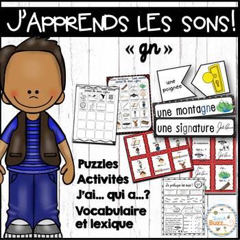 """Le son """"gn"""" - jeux et activités"""