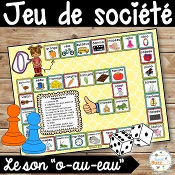 """Le son """"o"""" (""""au-eau"""") - jeu de société"""
