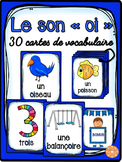 """Le son """"oi"""" - 30 cartes de vocabulaire - French Sounds"""