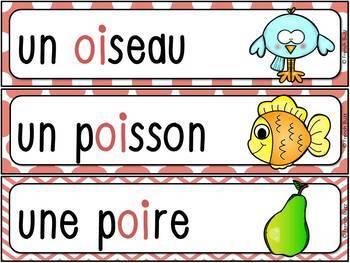 """Le son """"oi"""" - mur de mots et lexique"""