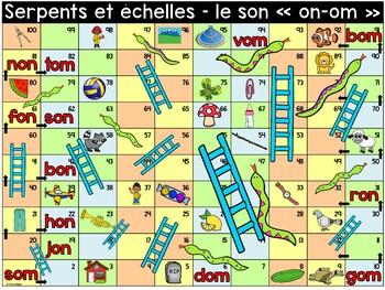 """Le son """"on-om"""" - Serpents et échelles"""