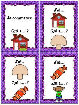 """Le son """"on-om"""" - jeu """"j'ai... qui a...?"""""""