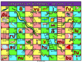 """Le son """"u"""" - Serpents et échelles"""