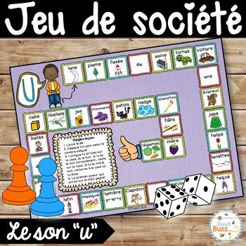 """Le son """"u"""" - jeu de société"""