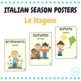 Le stagioni (Italian weather posters)