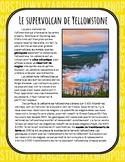 Le supervolcan de Yellowstone - Compréhension de lecture