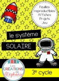 Le système solaire FRENCH SCIENCE KIT SOLAR SYSTEM
