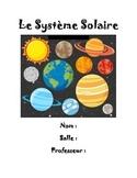 Le systeme solaire: Unit plan