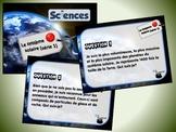 Le système solaire, série 1 (cartes à tâches) (Sciences)