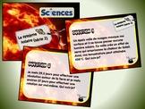 Le système solaire, série 2 (cartes à tâches) (Sciences)