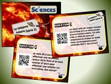 Le système solaire, série 2 (cartes à tâches) (Sciences) (codes QR)