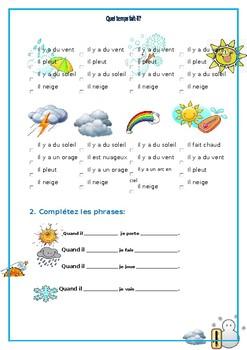 Le temps / La meteo / Weather