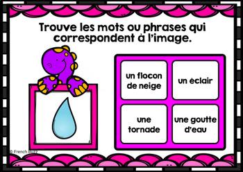 Le temps et la météo - BOOM Cards - French Weather