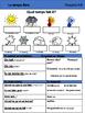 Le temps libre Vocabulary Organizer (Bien Dit! 1 Chapter 5)
