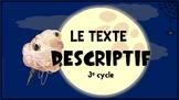 Le texte descriptif CLÉ EN MAIN