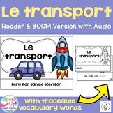 Le transport ~ French Transportation Reader plus BOOM paperless version