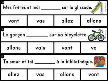 """Le verbe """"aller"""" - Ensemble - 3 activités"""