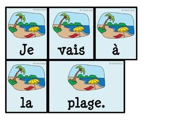 """Le verbe """"aller"""" - Ensemble - 3 activités - Bundle"""