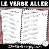 """Le verbe """"aller"""" - activités"""