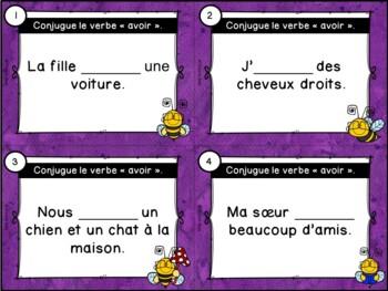 Le verbe avoir - Cartes à tâches - French Verbs Task Cards