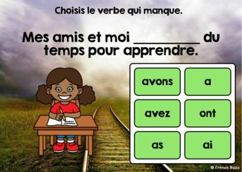 Le verbe avoir au présent - Sans pronoms - BOOM Cards