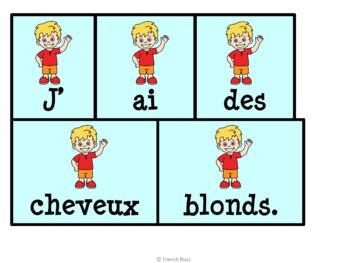 """Le verbe """"avoir"""" - 26 phrases mêlées"""