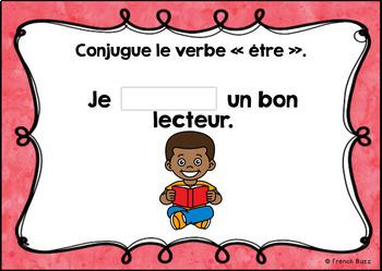 Le verbe être au présent - Avec et sans pronoms - Ensemble - BOOM Cards