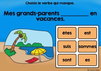 Le verbe être au présent - Sans pronoms - BOOM Cards
